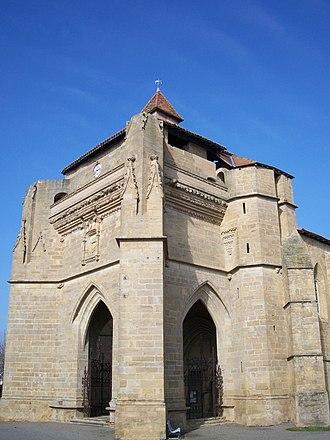 Beaumarchés - Image: Église Notre Dame de Beaumarchés (Gers, France)