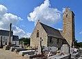 Église Saint-Pierre d'Hocquigny. Vue nord-est.jpg