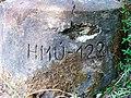 Újezd u Chocně, vrt k pozorování podzemních vod, číslo.jpg