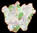 Łaziska Górne location map.png