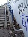 Žižkov, stezka U Sluncové - Pod Krejcárkem, schodiště mezi podchody (01).jpg