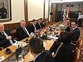 Επίσκεψη, Υπουργού Εξωτερικών, Ν. Κοτζιά στην πΓΔΜ – Συνάντηση ΥΠΕΞ, Ν. Κοτζιά, με Πρόεδρο Βουλής της πΓΔΜ, T. Zhaferi (23.03.2018) (40262435554).jpg