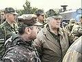 Генерал-лейтенант Хрулёв А.Н и Президент РЮО, август 2008 года.jpg