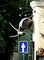 Горный козёл ползёт в указанном направлении. - panoramio.jpg