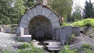 Grotto in Alexander Park, Tsarskoe Selo