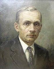 Portrait of Yanka Kupala