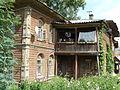 Дом Ивана Ильича Канарейкина, впоследствии - Екатерины Николаевны Колесниковой . Балкон.JPG