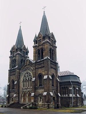 Kamianske - Image: Костел Святого Миколая у Кам'янську