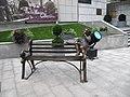 Мальчик, ковыряющий в носу (скульптор Франк Майслер), Харьков.jpg