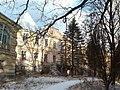 Палац родини Лянцкоронських. Парковий фасад.jpg