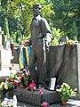 Пам'ятник Володимиру Івасюку на Личаківському кладовищі у Львові.jpg