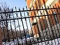 Пенза Богданова 1 Лермонтова 6(2) ограда двора.JPG