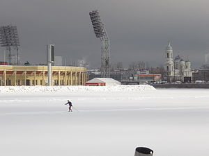 Petrovsky Stadium - Image: Петровский стадион