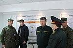 Президент України Петро Порошенко привітав молодих офіцерів з випуском 9017 (16758292730).jpg