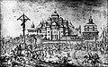 Софійський собор у 1651 році. Малюнок Абрагама ван Вестерфельда.jpg