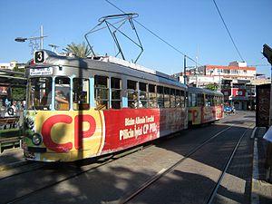 Trams in Antalya - Nostalgic tram