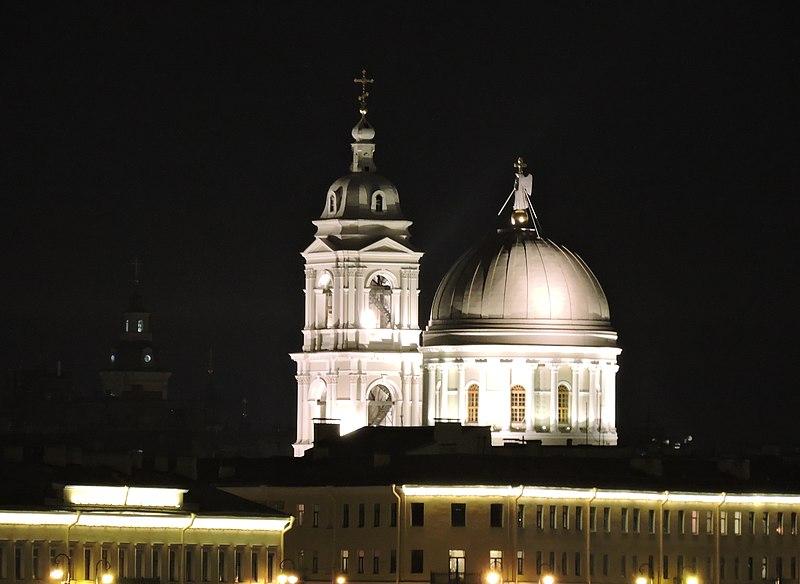Файл:Церковь Святой Екатерины ночью.jpg