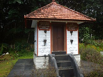 Velu Thampi Dalawa - The Mannadi Temple, where Thampi committed suicide