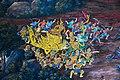 จิตรกรรมฝาผนังวัดพระศรีรัตนศาสดาราม 0005574 by Trisorn Triboon D85 0313.jpg