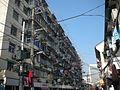 上海小巷內曬衣景觀 Clothesline at Shanghai - panoramio.jpg