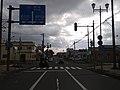 北海道道794号森停車場線・北海道道1028号森砂原線交点(森駅側から).jpg