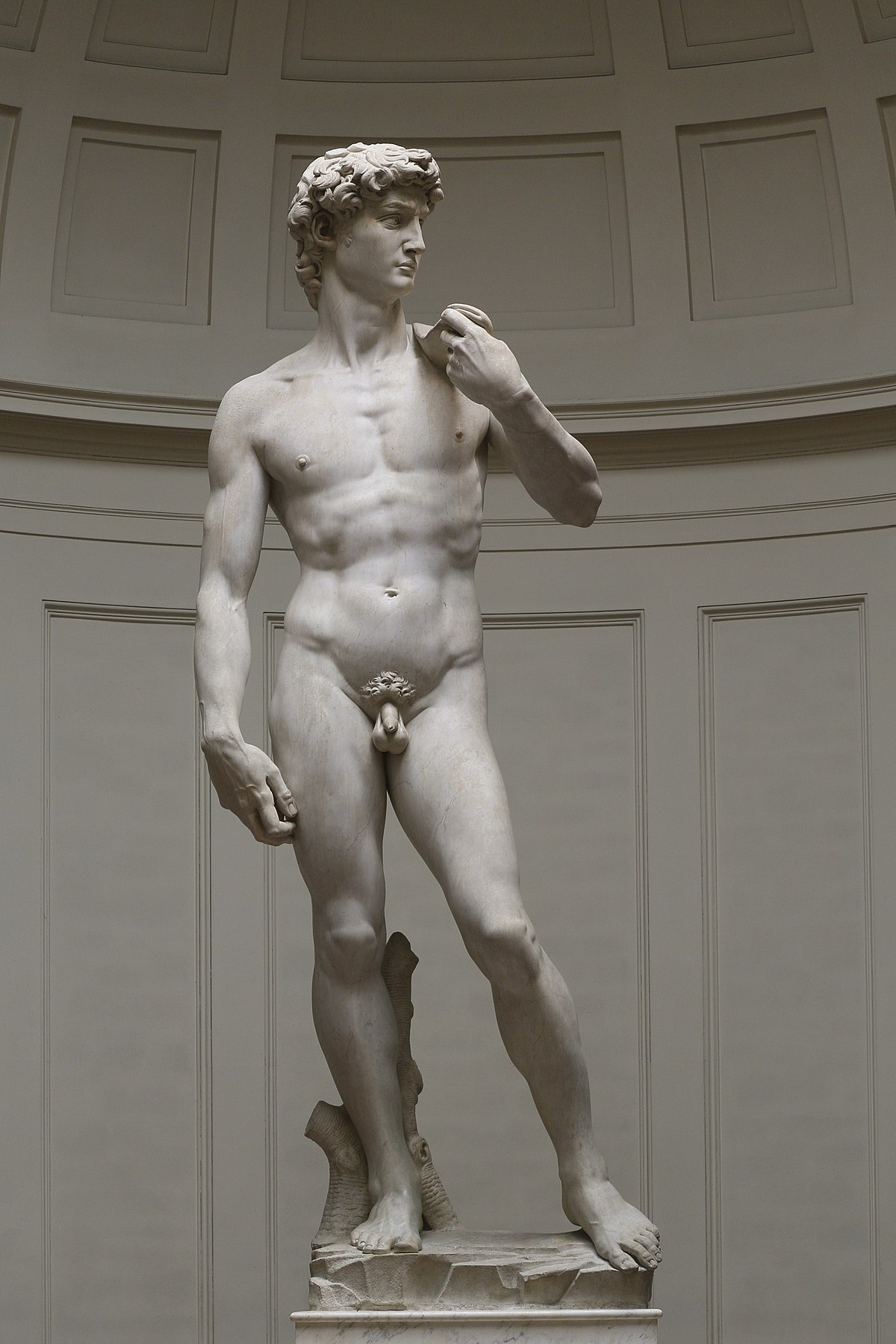 Agree, rather michelangelo s david consider