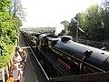 -2019-04-20 BR Standard Class 4 4-6-0 75014 Goodrington Sands railway station, Devon (2).JPG