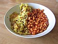 -2019-08-08 Bubble and Squeak with Baked Beans, Cromer (1).JPG