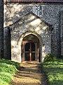 -2020-11-04 Porch on south elevation, Saint Ethelbert's, Alby Norfolk.JPG