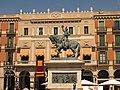 016 Plaça de Prim, monument al General i Teatre Fortuny.jpg