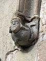 020 Sant Jeroni de la Murtra, portal d'entrada, cap de Carles I.JPG