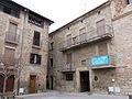029 Plaça Gran, amb l'antic Ajuntament (Santpedor).JPG