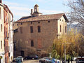062 Can Cavaller (Monistrol de Montserrat), façana oest, pl. de la Font Gran.JPG