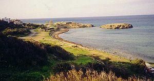 Military operations during the Turkish invasion of Cyprus - Pentemilli Beachhead on Kyrenia coastline
