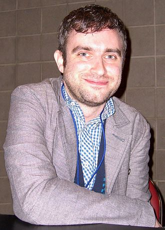 Nick Spencer - Spencer at the New York Comic Con in Manhattan, October 9, 2010