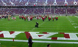 Stanford Band - LSJUMB pre-game show at Stanford Stadium.