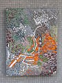 1100 Bergtaidingweg 21 Stg. 45 PAHO - Smaltenmosaik-Hauszeichen Abstrakte Komposition von Edda Mally IMG 7684.jpg