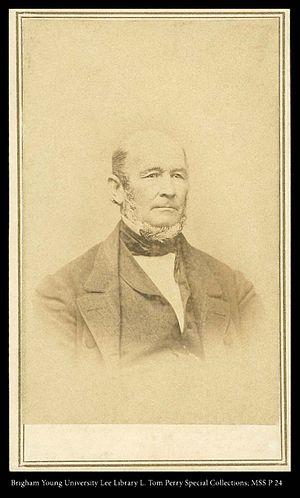 Heber C. Kimball - Heber C. Kimball around 1862