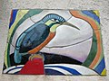 1210 Roggegasse 44-46 Stg 2 - Haustafel Eisvogel von Maria Schwamberger-Riemer 1961 IMG 2829.jpg