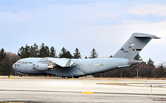 137th Airlift Squadron - 137th Airlift Squadron - McDonnell Douglas C-17A Globemaster III 95-0105
