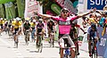 13 Etapa-Vuelta a Colombia 2018-Sebastian Molano-Ganador Etapa 13 en Medellin 2.jpg