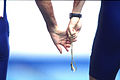 141100 - Athletics track visually impaired lead rope close up - 3b - 2000 Sydney race photo.jpg