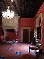 145 Castell de Santa Florentina (Canet de Mar), dormitori del rei.JPG