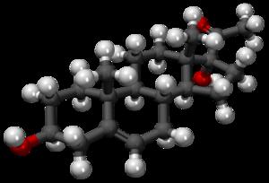 17α-Hydroxypregnenolone - Image: 17 Hidroxipregnenolona 3D