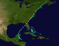 1874 Atlantic hurricane 6 track.png