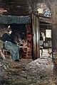 1875 Feddersen Die alte Sösk am Herd, Klockries anagoria.JPG