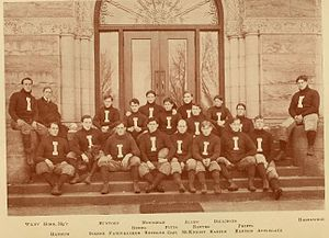 1903 Illinois Fighting Illini football team - Image: 1903 Illinois Fighting Illini football team