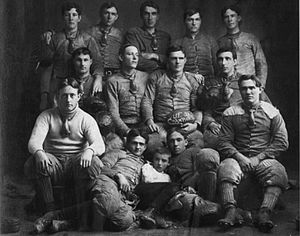 1903 University of Florida Blue and White football team - Image: 1903 University of Florida Lake City football team