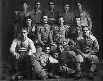 1903 University of Florida Blue and White football team - Image: 1903 University of Florida Lake City football team