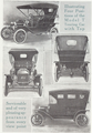 1909 Ford Catalog - Model T Touring Car - Four Views with Top Up.png